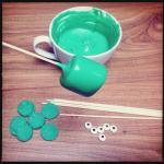 HALLOWEEN SPECIAL #2: Frankensteins Monster Marshmallow Pops