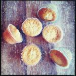 Rosen-Cupcakes im Blumentopf