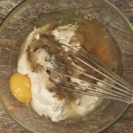Schmandtarte mit karamellisierten Birnen