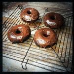 Schoko-Donuts
