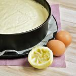 Lemon Curd Cake - Englische Zitronentorte