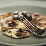 Blaubeer-Pancakes